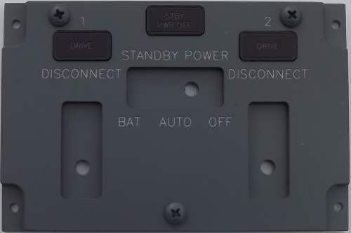 Standby power panel