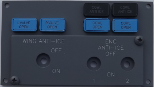 Aircraft Anti-Ice panel