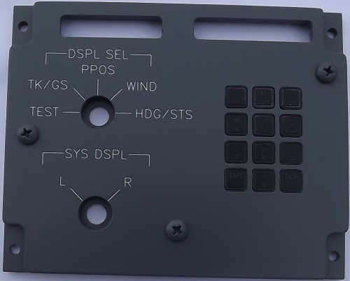 Display select control panel