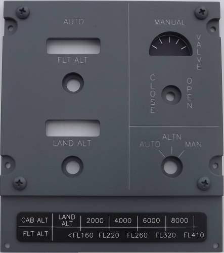 Flight Alt overhead panel