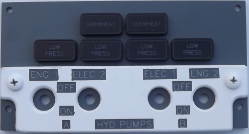 Hydraulic Pumps panel