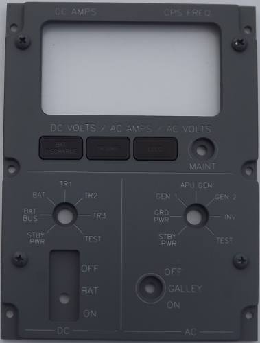 Flightdeck Battery Panel