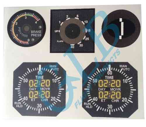 Boeing 737 Main Instrument Panel Guages