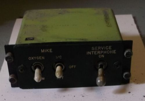 Interphone / Mic panel