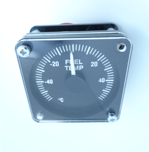 Replica Boeing 737 Fuel Temp Gauge (Overhead)