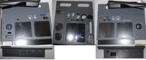 'Simworld' Main instrument panel set.