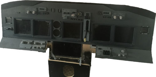 Replica Boeing 737NG Main Instrument Panel (MIP) With Extras!
