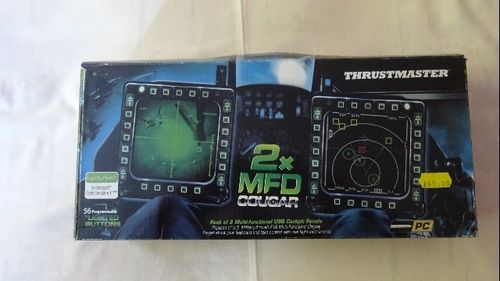 Thrustmaster Cougar MFD Displays