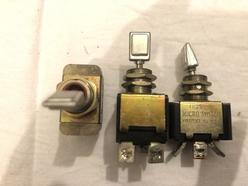 Real aircraft paddle switches