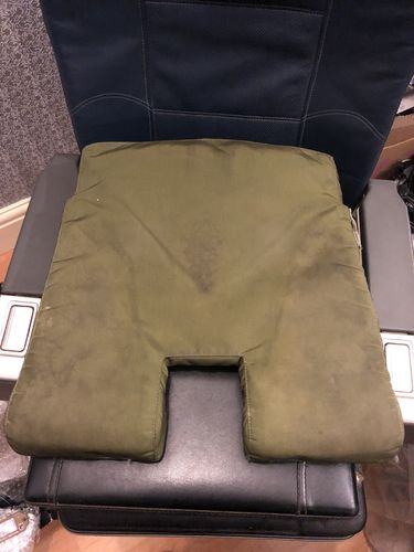 Military seat base cushion