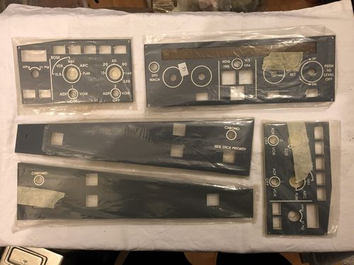 Pre-Owned: Aircraft Sim Parts - GLB Flight Products