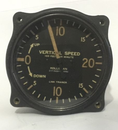 Kollsman Vertical Speed Gauge