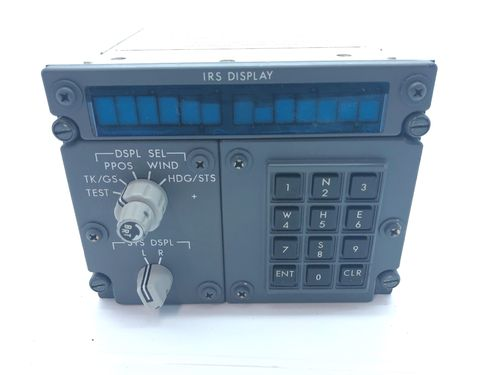 Honeywell Boeing 737NG IRS Control & Display Panel