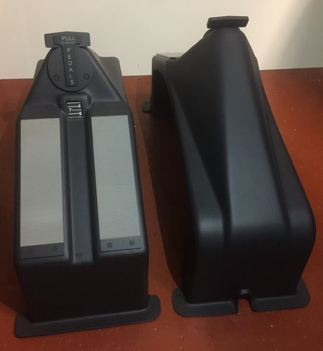 Airbus rudder pedal covers