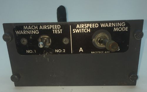 Airspeed Warning Panel