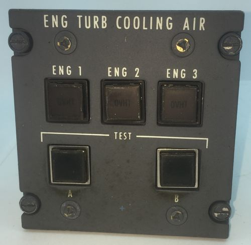 Engine Turbo Cooling Air Panel