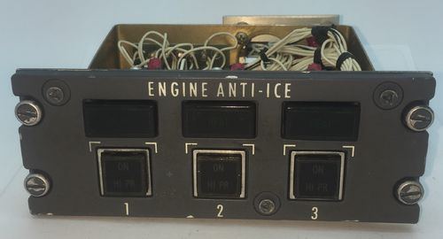 Engine anti ice panel