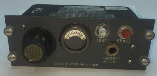 Cockpit Voice Recorder Panel (by Fairchild)