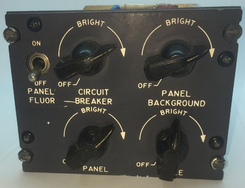 Light Control Switch Panel