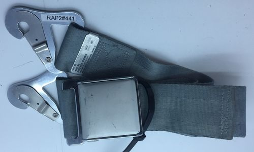 Aviation commercial pax seatbelt