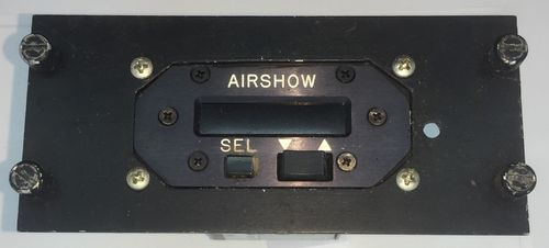 Airshow timer panel.