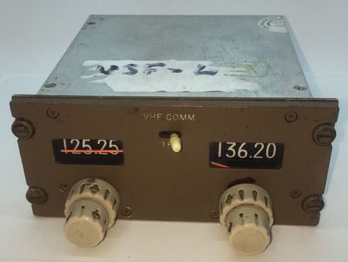 Gables Engineering Brown VHF/COMM control Panel