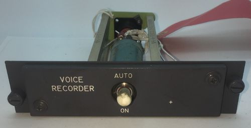 Boeing 737NG Voice Recorder Panel.