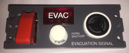 Evacuation panel