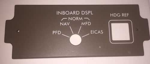 Replica Boeing 777 Inboard display panel