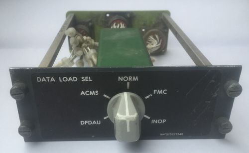 Data Load Selector Panel,