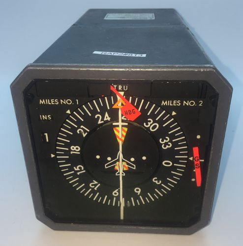 Sperry Large HSI and DME gauge.