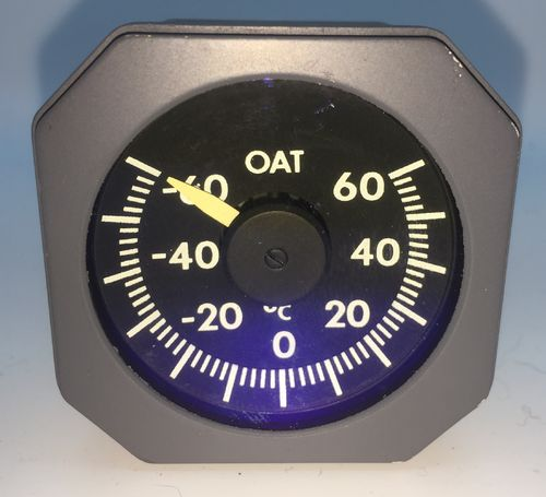 outside air temperature gauge