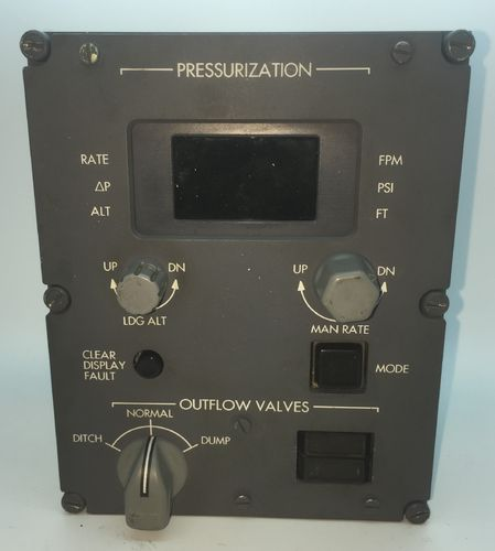 Aircraft Complete Pressurization Panel By Honeywell