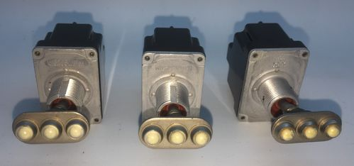3 real aircraft landing light toggle switches