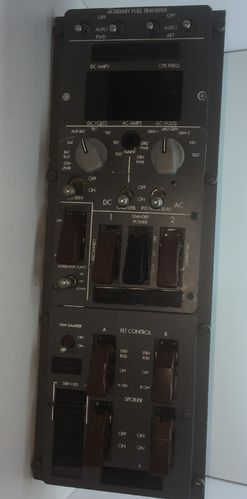 Boeing overhead control panel